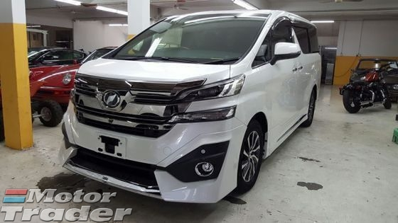 2016 TOYOTA VELLFIRE 3.5 Executive Lounce New Car