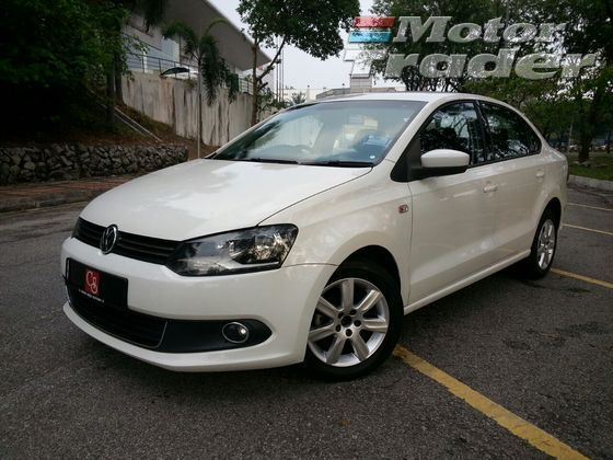 2011 VOLKSWAGEN POLO 1.6 (A) SEDAN CBU UNDER WARRANTY 2011/2012