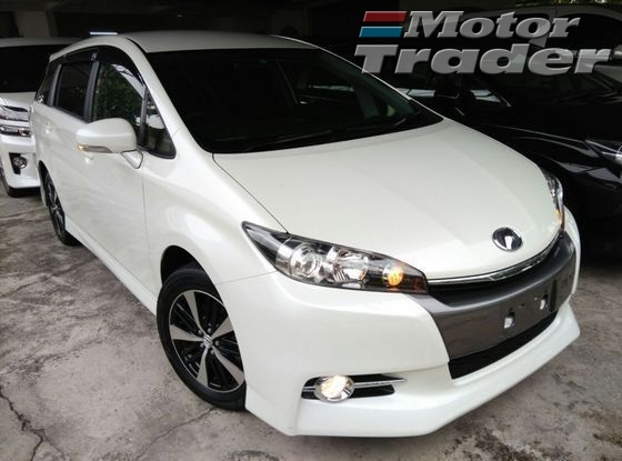 2013 TOYOTA WISH 1.8 S ( SPORT NEW FACELIFT ) JAPAN SPEC