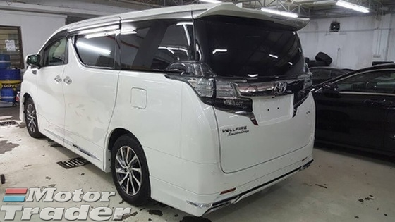 2015 TOYOTA VELLFIRE 3.5 Executive Lounge Full spec