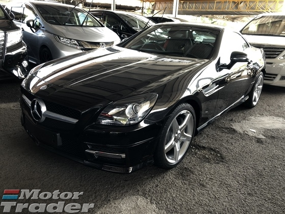 2013 MERCEDES-BENZ SLK SLK200 AMG Sport 7GTronic Panoramic Roof Multi Function Paddle Shift Steering Bluetooth