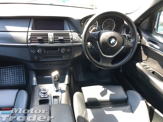 2014 BMW X6 xDrive 30d 3.0 Turbocharged 8Speed Transmission New Facelift Sun Roof Automatic Power Boot Memory Power Bucket Seats Multi Function Paddle Shift Steering Bluetooth Connectivity Xenon Light Dual Climate Control Auto Cruise Control 1 Year Warranty Unreg