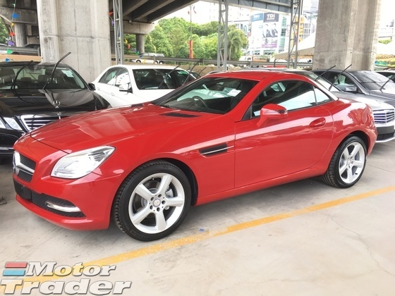 2013 MERCEDES-BENZ SLK SLK200 CGi Turbocharged Keyless Push Start Button 2 Memory Seat Intelligent Xenon Light Bluetooth