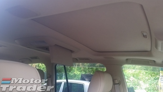 2012 TOYOTA LAND CRUISER ZX Spec Cream Leather Seat
