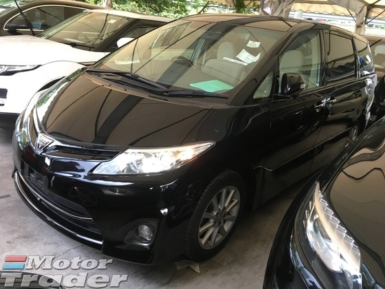 2012 TOYOTA ESTIMA 2.4 Aeras G Edition Full Spec Home Theater Surround Panaromic Roof 7 Seat 2 Power Doors Body Kits Front Reverse Camera Xenon Lights Keyless Go Push Start Button Multi Function Steering 1 Year Warranty Unreg