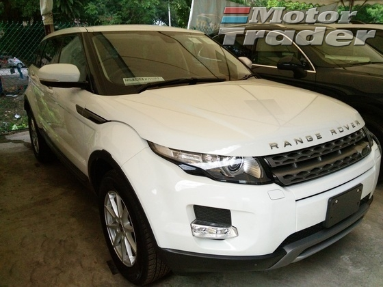 2013 LAND ROVER EVOQUE 2.0 Turbo Moonroof 4 Cameras