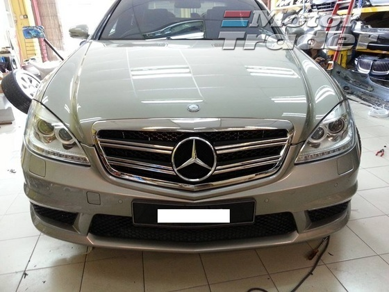 MERCEDES CL SPORT FRONT GRILL Exterior & Body Parts > Others