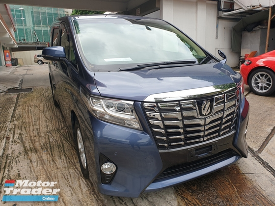 2016 TOYOTA ALPHARD 2.5 Model X 8 Seater Unreg