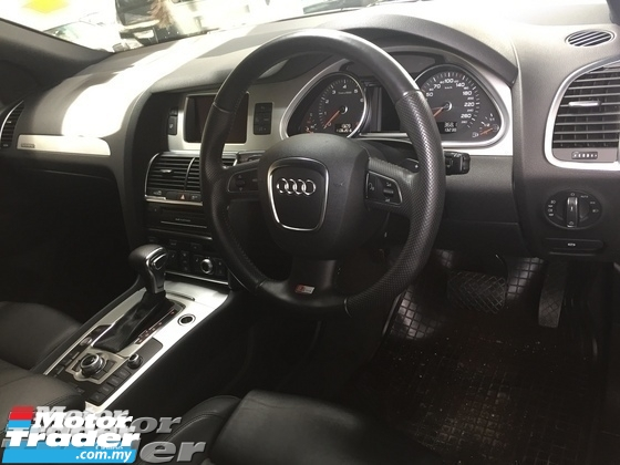 2011 AUDI Q7 Audi Q7 3.0 petrol engine S Line camera 333hp