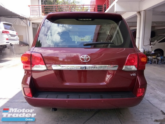2013 TOYOTA LAND CRUISER 4.5 Diesel Full Spec Unreg (NO GST)