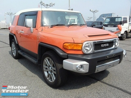 2011 TOYOTA FJ CRUISER 2011 Toyota FJ Cruiser 4.0 (A) LIMITED DEMO CAR