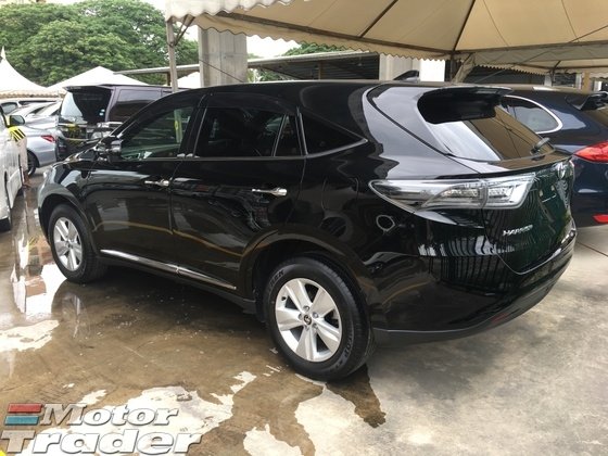 2015 TOYOTA HARRIER 2.0 Valvematic 7Speed Super CVT New Model Electrical Power Seat Adaptive Intelligent LED Light System Touch DVD Player Touch Dual Zone Climate Control SemiLeather Seats Keyless Smart Entry Push Start Button Multi Function Steering Bluetooth Connectivity