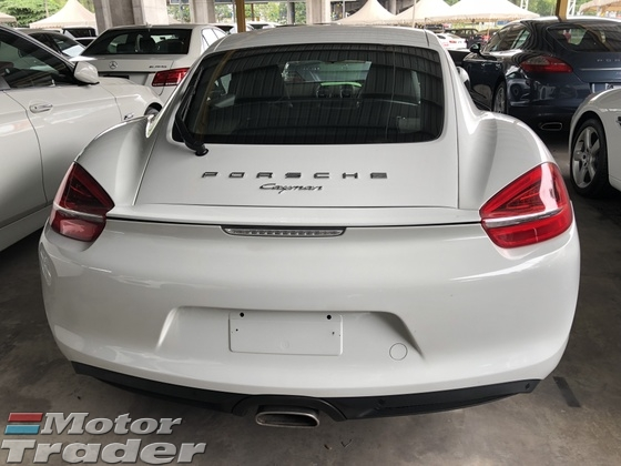 2013 PORSCHE CAYMAN 2.7 PDK 7Speed 272hp Sport Selection Multi Function Paddle Shift Steering PCM Auto Rear Spoiler