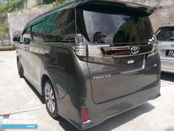 2017 TOYOTA VELLFIRE 3.5 V6 Golden Eye Precrash