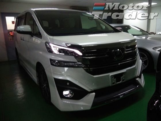 2015 TOYOTA VELLFIRE 3.5 EL FULL SPEC ( JAPAN SPEC )