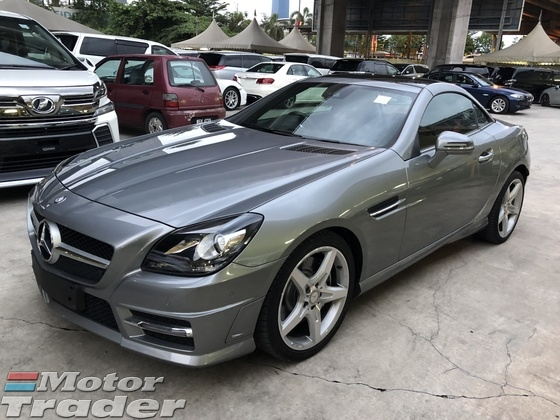 2015 MERCEDES-BENZ SLK SLK200 AMG Sport 7GTronic Panoramic Roof Multi Function Paddle Shift Steering Bluetooth