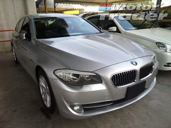 2012 BMW 5 SERIES 520i High Line 8 Speed Smart Telescopic Steering Unregistered