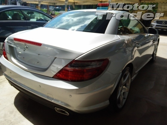 2012 MERCEDES-BENZ SLK 250 AMG Unregistered GST INCLUDED PRICE