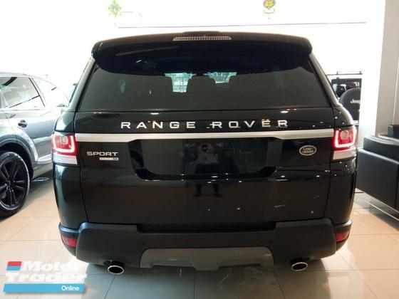 2015 LAND ROVER RANGE ROVER SPORT 3.0 SE Petrol Supercharge Japan Unreg