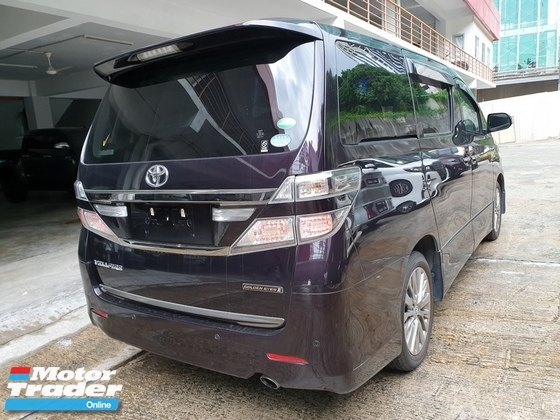 2014 TOYOTA VELLFIRE 2.4 Golden Eyes 2 Unreg