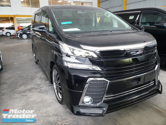 2015 TOYOTA VELLFIRE 2.5 Model ZG AMIRATION Bodykit