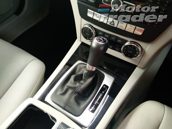 2012 MERCEDES-BENZ C-CLASS C180 7 Gears Facelift Unregistered