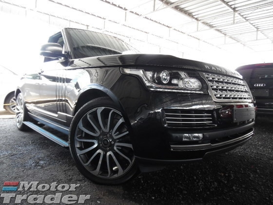 2013 LAND ROVER RANGE ROVER 5.0 V8 SuperCharged VOGUE AUTOBIOGRAPHY