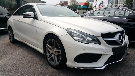 2014 MERCEDES-BENZ E-CLASS E200 2.0 AMG COUPE UNREG