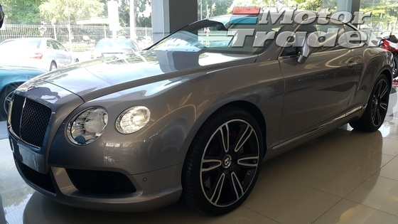 2013 BENTLEY CONTINENTAL GT 4.0 V8 FULL SPEC UNREG