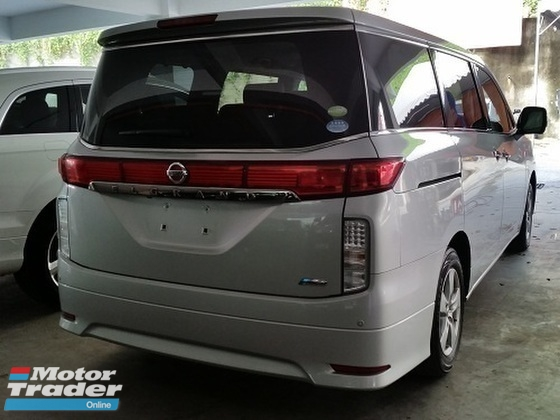 2011 NISSAN ELGRAND 2.5 4WD 7 Seater Unreg (NO SST)
