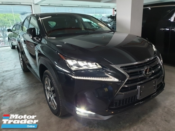 2016 LEXUS NX 200 2.0Turbo Luxury Japan Unreg (NO SST)