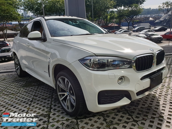 2015 BMW X6 35I 3.0T MSport Japan Unreg