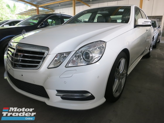 2013 MERCEDES-BENZ E-CLASS 1.8 AMG PUSH START KEYLESS  SMART ENTRY