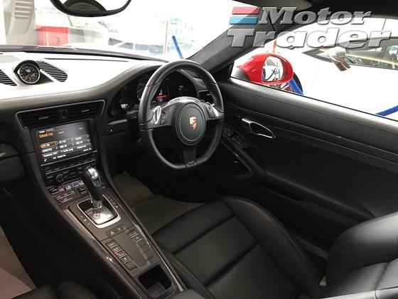 2013 PORSCHE 911 S 3.8 NEW MODEL UNREG