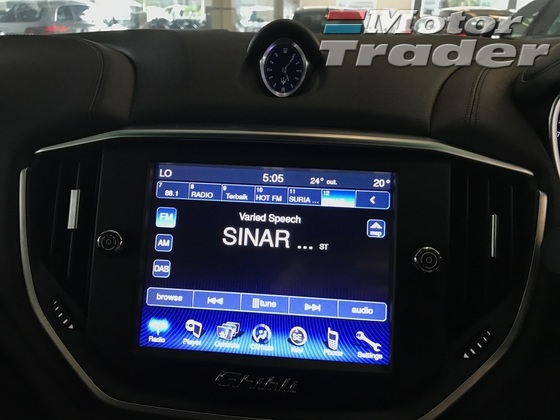 2014 MASERATI GHIBLI S 3.0 V6 TWIN TURBO 410 HP HIGH SPEC UNREG