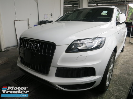 2011 AUDI Q7 3.0 S LINE POWER BOOT BOSE SYSTEM MMI2