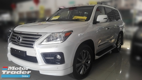 2014 LEXUS LX570 LUXURIOUS FULLEST SPEC LIKE NEW CAR