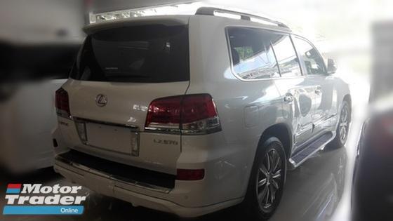 2014 LEXUS LX570 LUXURIOUS FULLEST SPEC LIKE NEW CAR