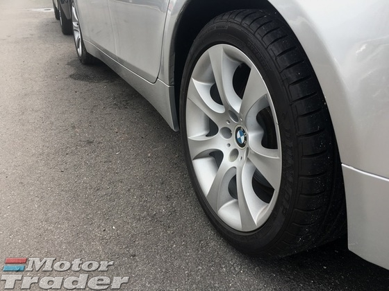 2007 BMW 5 SERIES E60 523i L6 2.5 CKD (ACTUAL YR MADE 2007)(MAGNESIUM ENGINE)(GST INCLU)(TIP TOP) (KL CHERAS AREA)