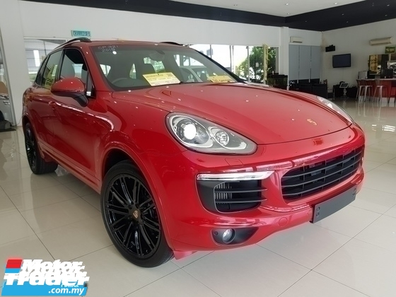 2015 PORSCHE CAYENNE 3.0 V6 TURBO DIESEL FACELIFT GTS RED P/ROOF