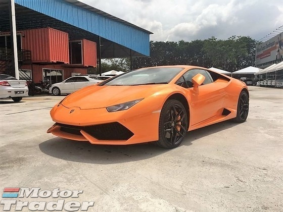 2015 LAMBORGHINI HURACAN 5.2 LP610-4 UK SPEC