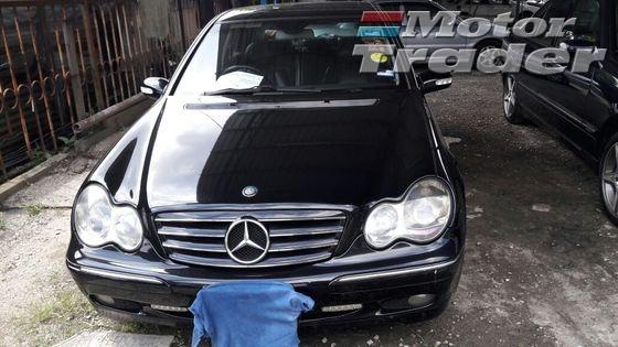 2003 MERCEDES-BENZ C-CLASS Benz C200K AMG Spec, Sun roof, 17\