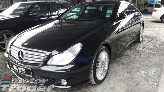 2008 MERCEDES-BENZ CLS-CLASS Benz CLS 350 AMG Sport, 2008/12, 1 owner, sun roof, accident free, paddle shift at steering.