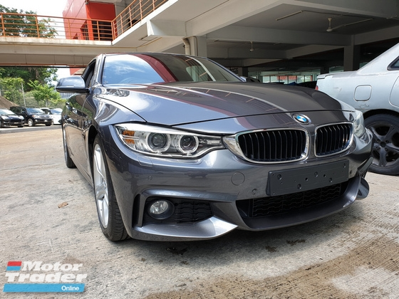 2014 BMW 4 SERIES 428i 2.0t Coupe MS UK Unreg