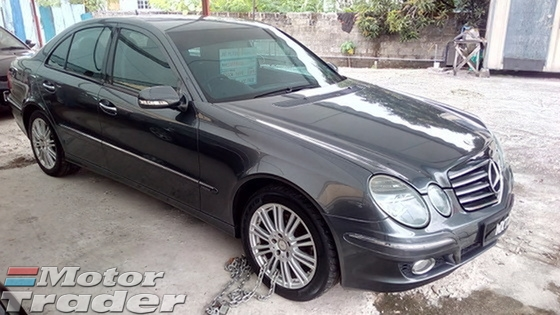 2009 MERCEDES-BENZ E-CLASS E200k W211 Facelift Model 1 VVIP OWNER VIEW TO BELIEVE