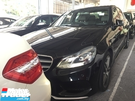 2015 MERCEDES-BENZ E-CLASS E200 AMG PRICE 0 SST. 2.0cc FACELIFT.PADDLE SHIFT.LED LIGHT.TRUE YEAR 15 UNREG.FREE GIFTSSS