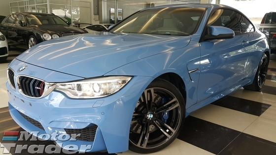 2015 BMW M5 BMW M4 3.0 AUTO M SPORT SUNROOF MARINA BLUE UNREG
