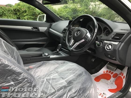 2012 MERCEDES-BENZ E-CLASS 2012 Mercedes Benz E250 AMG COUPE (A) UNREG