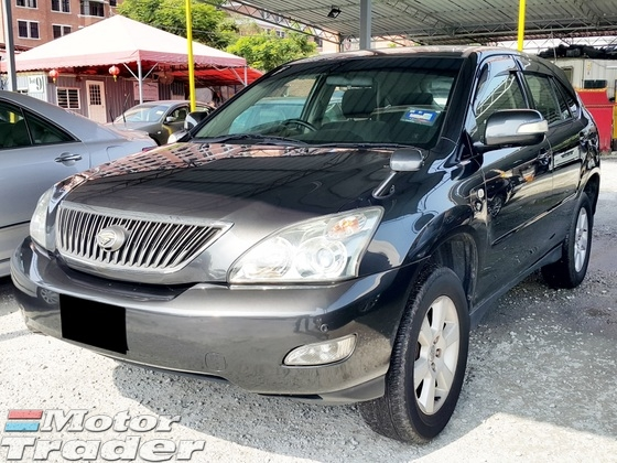 2006 TOYOTA HARRIER 2.4 (Auto) G Package Standard Spec Year Make 2006 (Bank Loan Up to 4 Years)