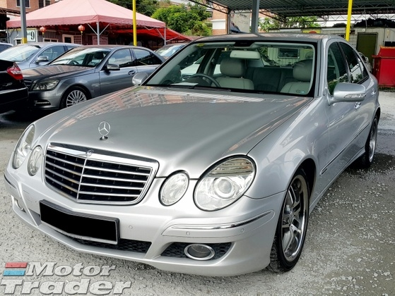 2008 MERCEDES-BENZ E-CLASS E200K W211 New Facelift (Auto) 184 BHP (Full Loan Up To 6 Years)